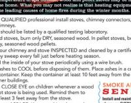 Wood Pellet Stove Safety